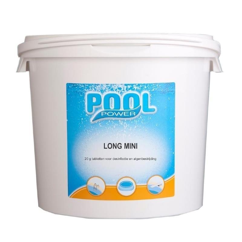 Pool Power Mini Chloortabletten 20 gr/5 kg