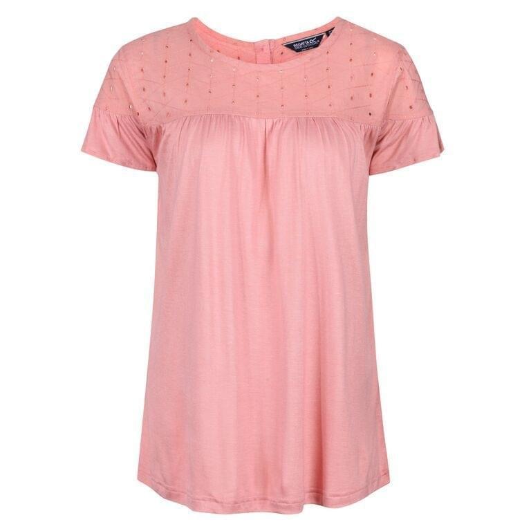 Regatta Abitha T-Shirt Dames Roze