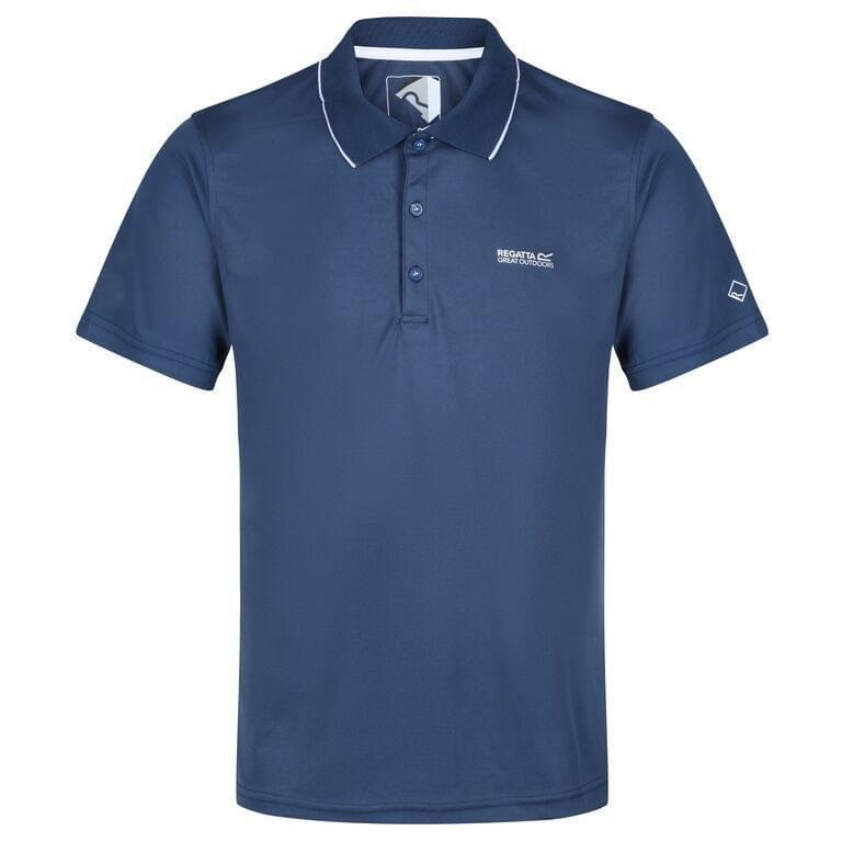 Regatta Maverik V Poloshirt Heren Donkerblauw
