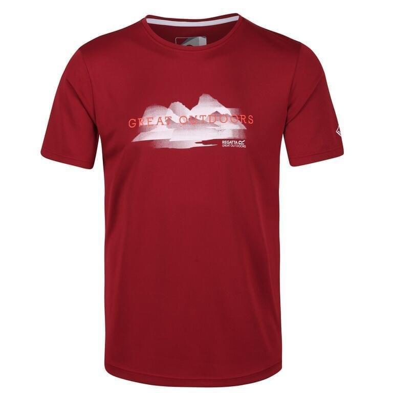 Regatta Fingal V T-Shirt Heren Rood