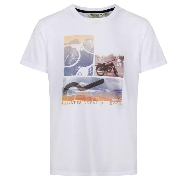 Regatta Cline IV T-Shirt Heren Wit