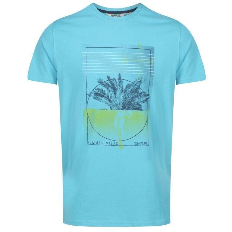 Regatta Cline IV T-Shirt Heren Blauw