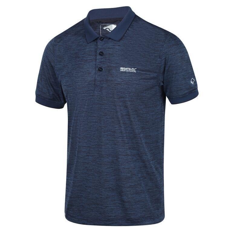 Regatta Remex II Poloshirt Heren Blauw