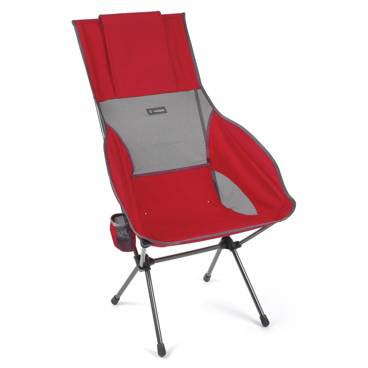 Helinox Savanna Chair Lichtgewicht Stoel Rood