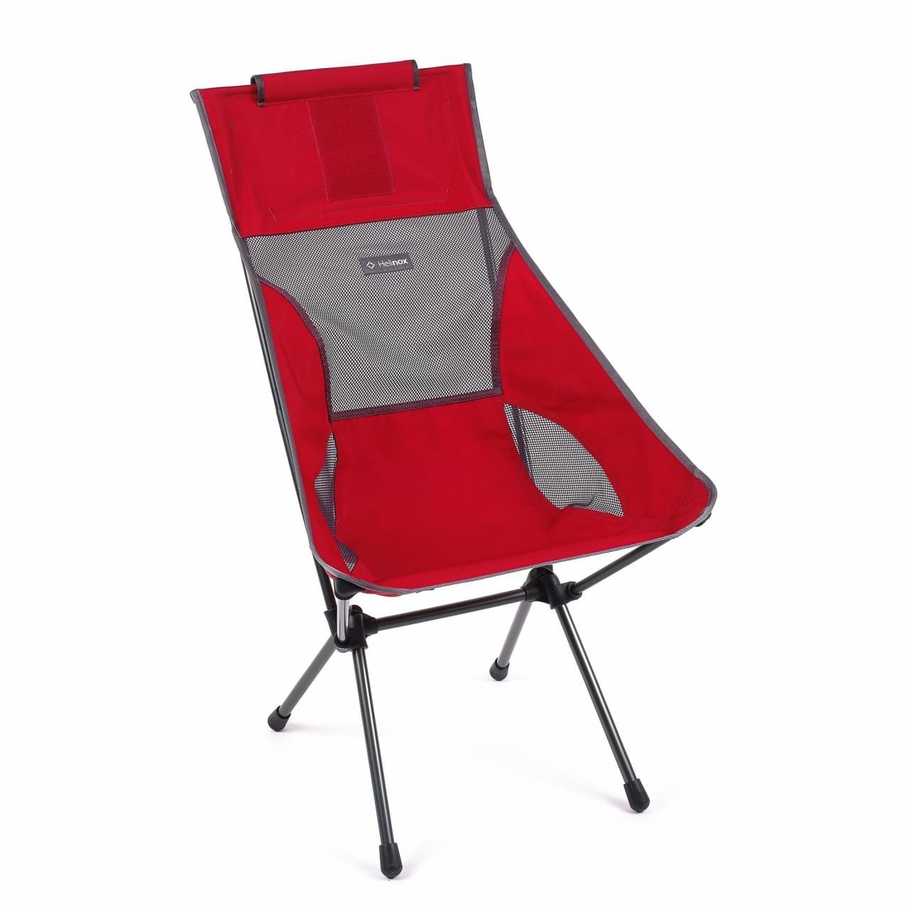 Helinox Sunset Chair Lichtgewicht Stoel Rood