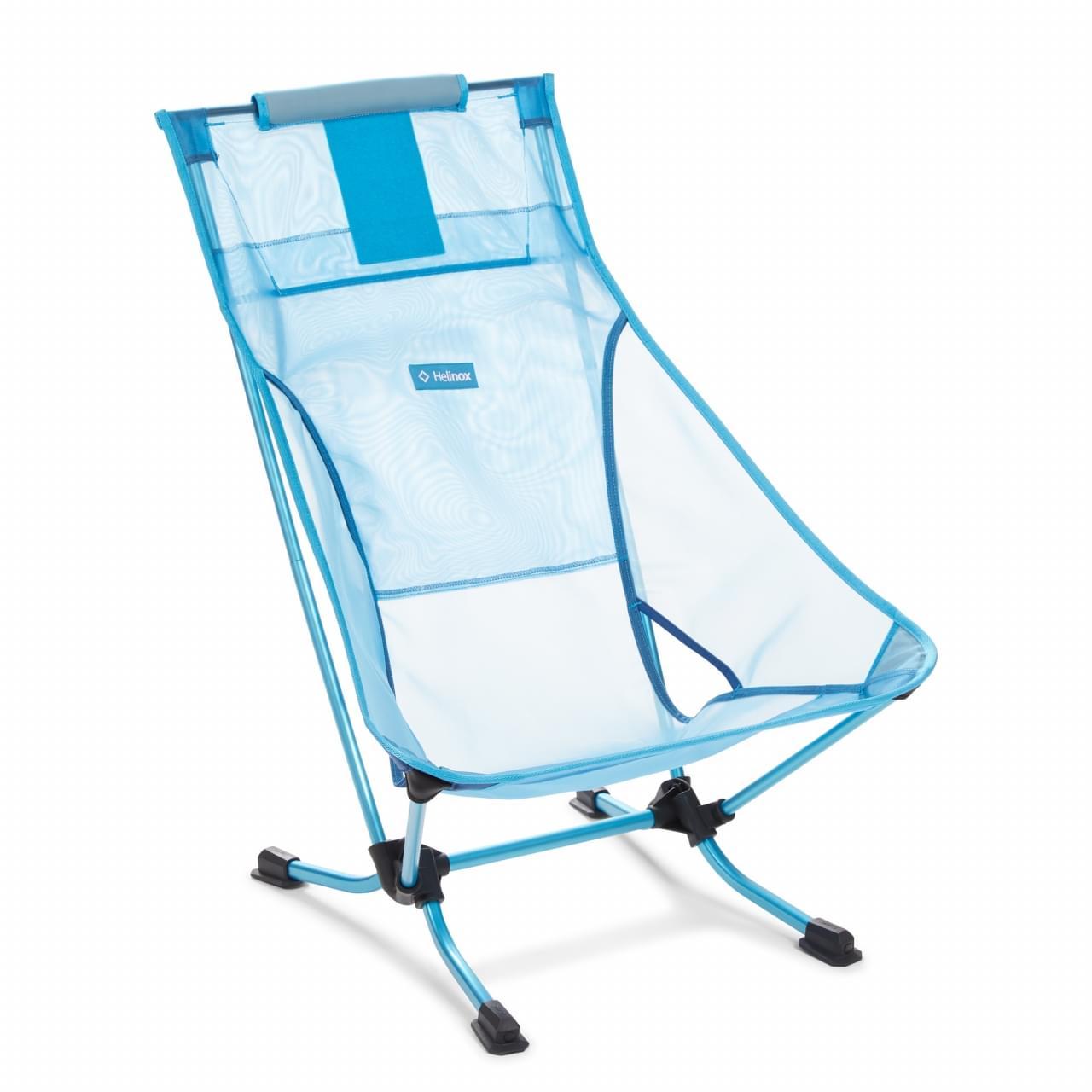 Helinox Beach Chair Mesh Lichtgewicht Stoel Blauw