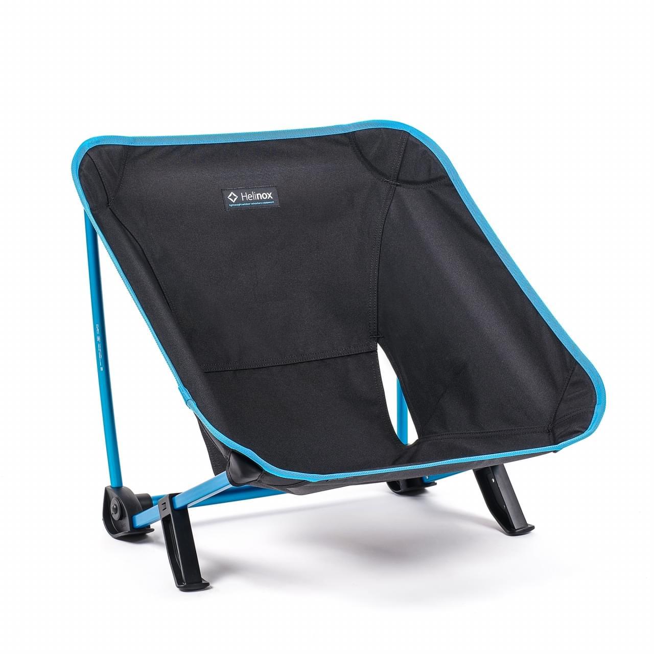 Helinox Incline Festival Chair Lichtgewicht Stoel Zwart