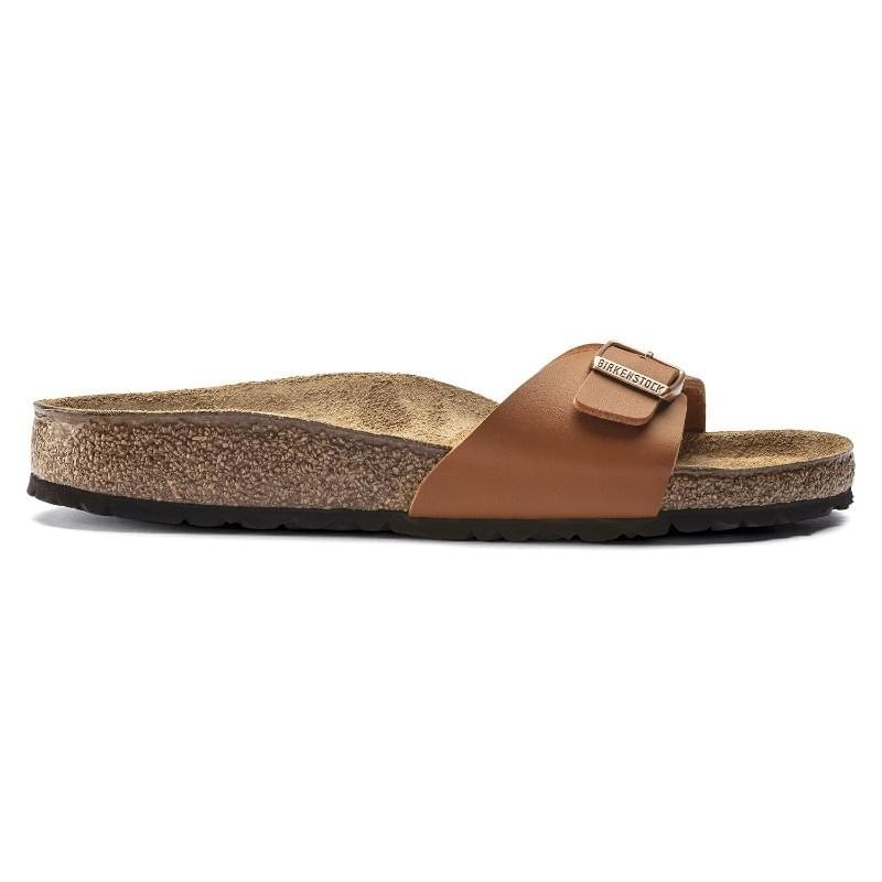 Birkenstock Madrid BF Narrow Slipper Dames Bruin