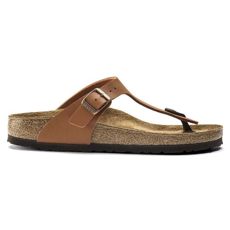 Birkenstock Gizeh BF Narrow Slipper Dames Bruin