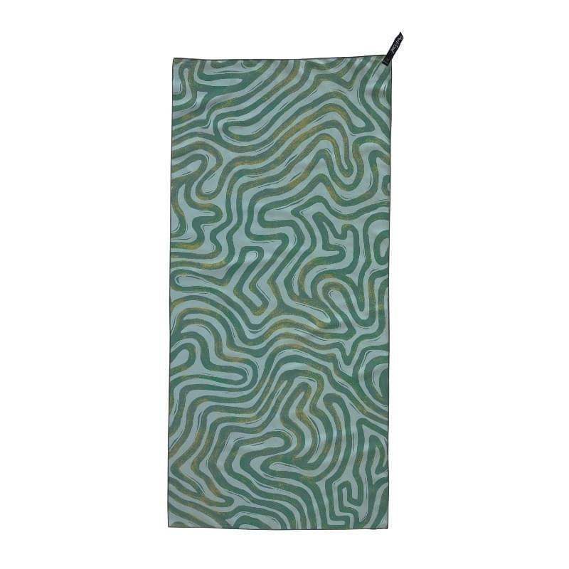 Packtowl Personal Body Lichtgewicht Handdoek Groen