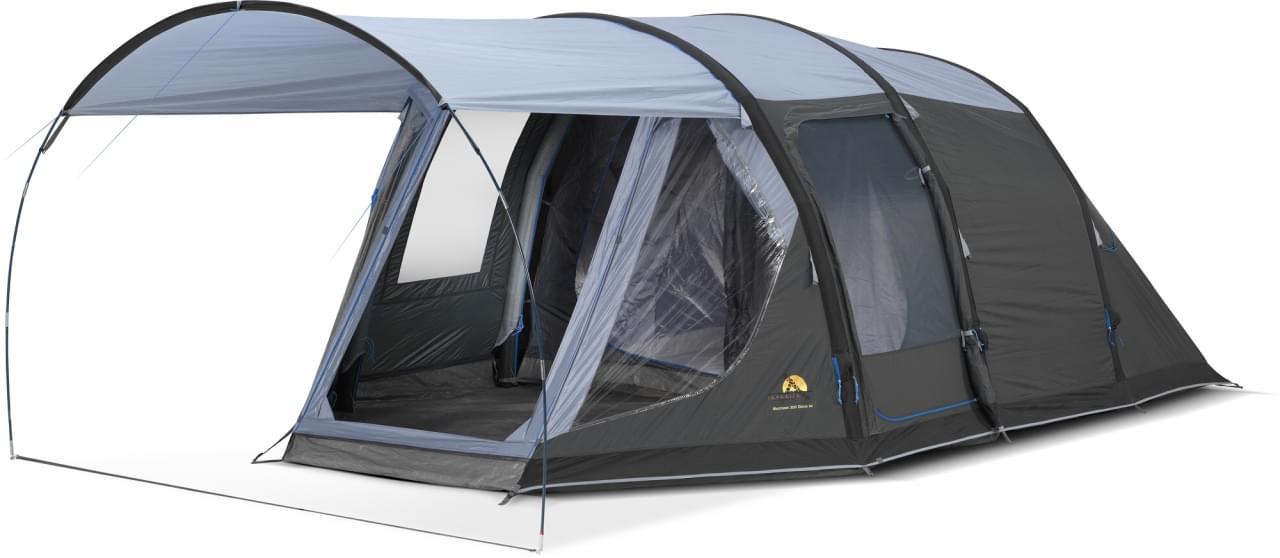 Safarica Blackhawk 300 deLuxe AIR - 4 Persoons Tent Grijs