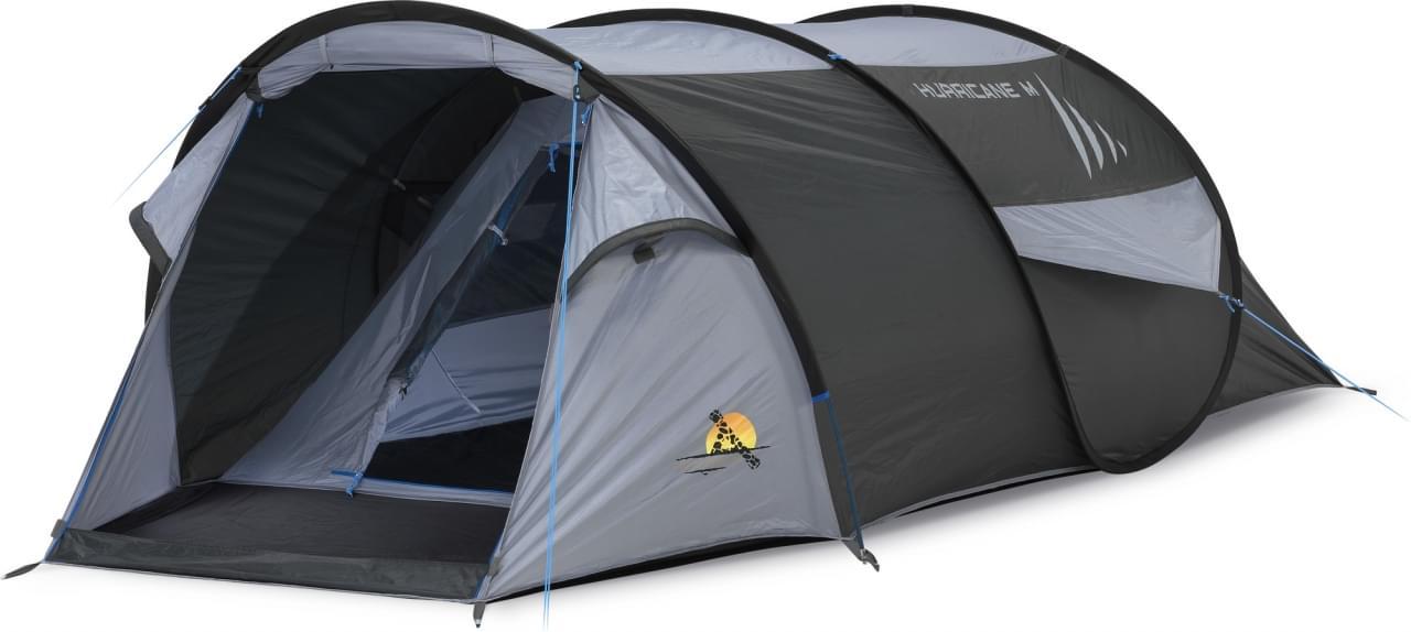 Safarica Hurricane M Pop Up - 2 Persoons Tent Grijs