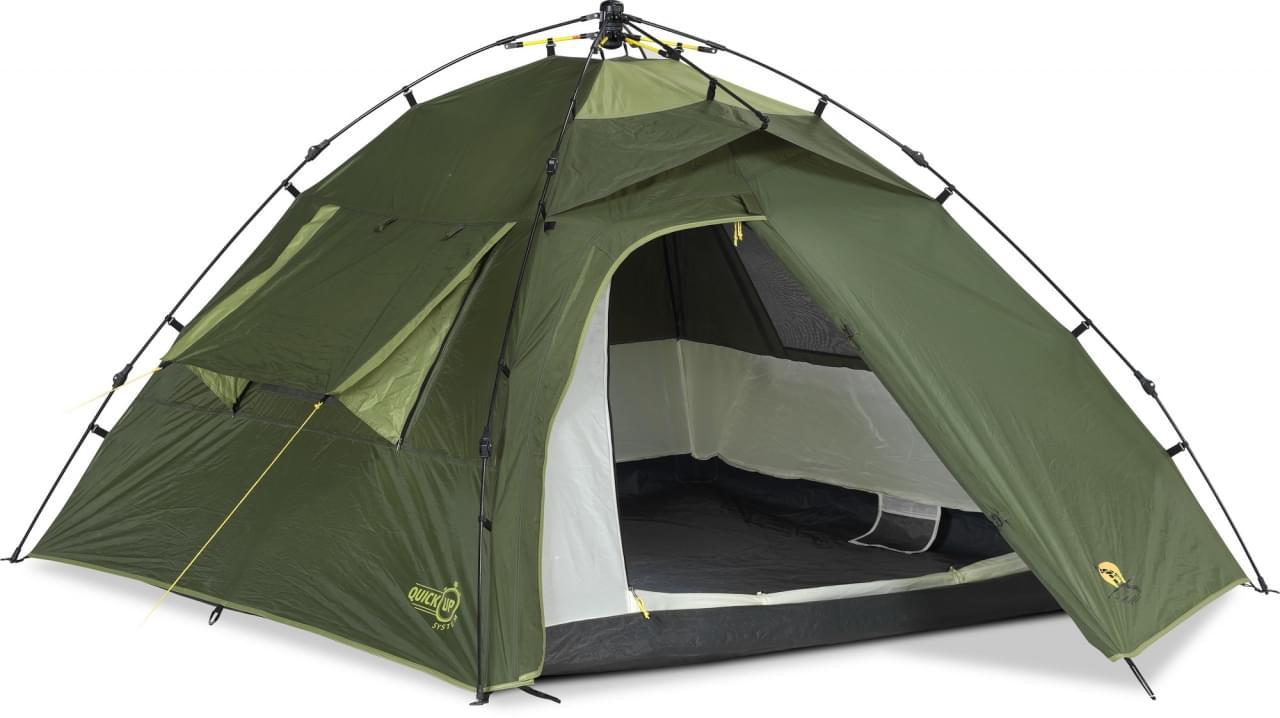 Safarica Speed 3 - 3 Persoons Tent Groen
