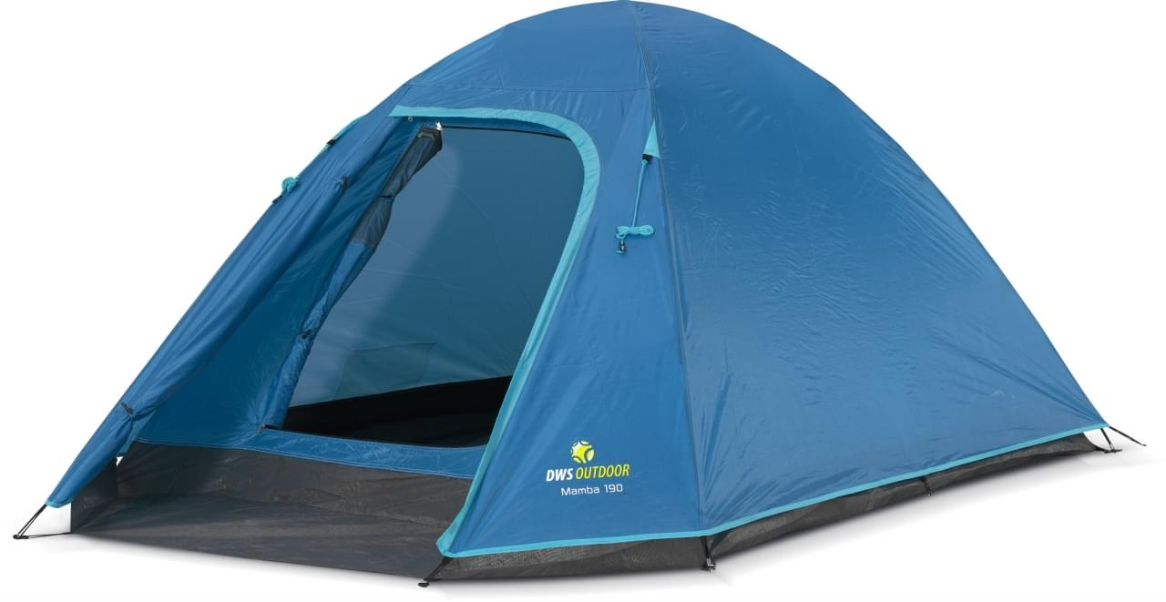 DWS Mamba 190 - 3 Persoons Tent Blauw