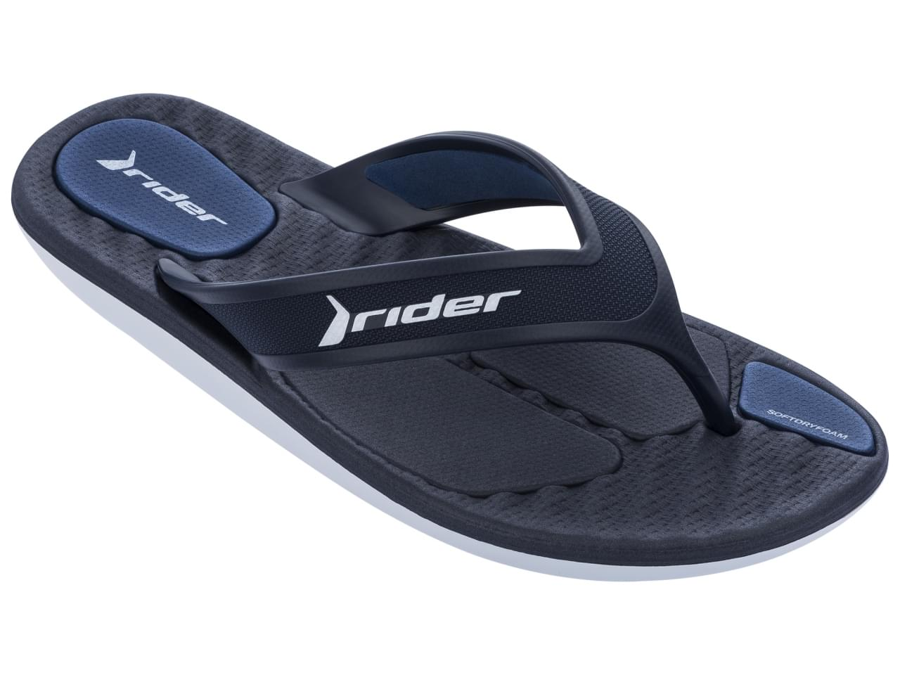Rider R Line Plus Slipper Heren Blauw