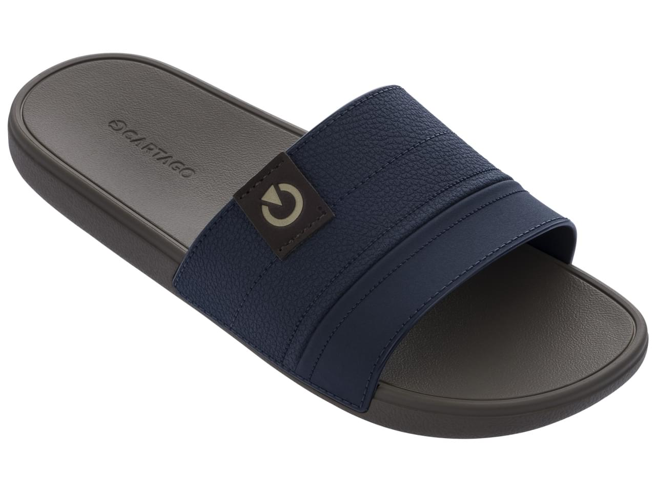 Cartago Dakar Gaspea Slipper Heren Blauw