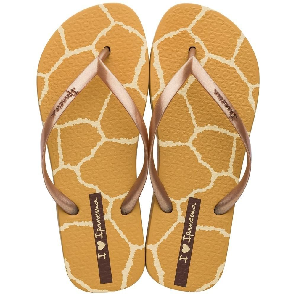 Ipanema I Love Safari Slipper Dames Beige