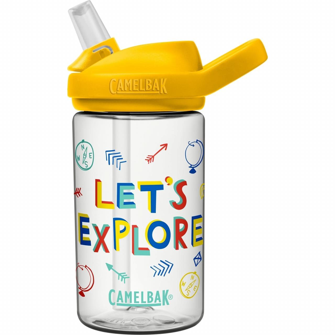 Camelbak Eddy+ Kids 0.4 ltr Drinkfles Geel