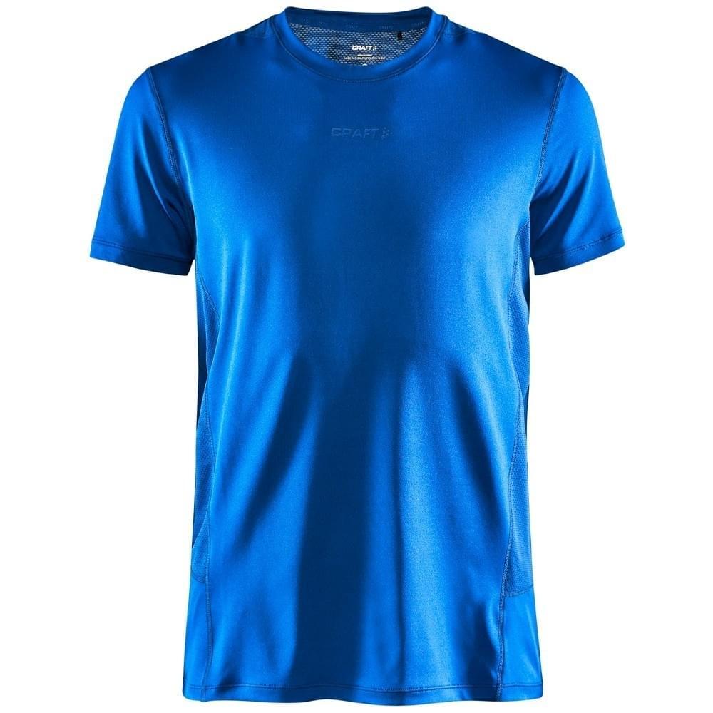 Craft Advanced Essence Tee T-Shirt Heren Blauw