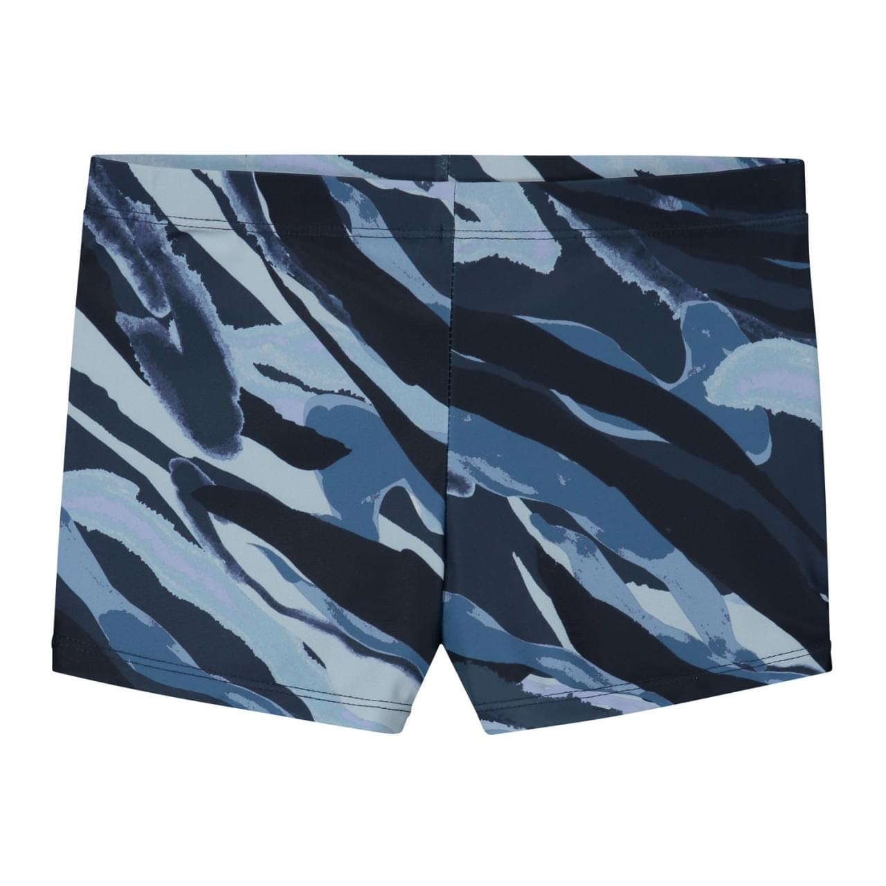 SHIWI Camouflage Zwemboxer Kids Blauw