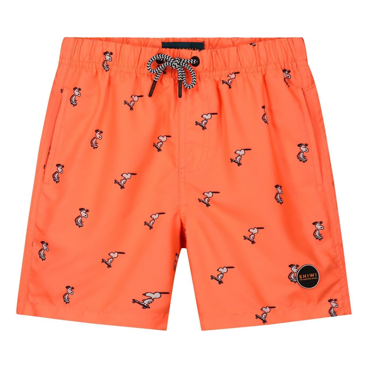 SHIWI Snoopy Happy Skater Zwembroek Kids Oranje