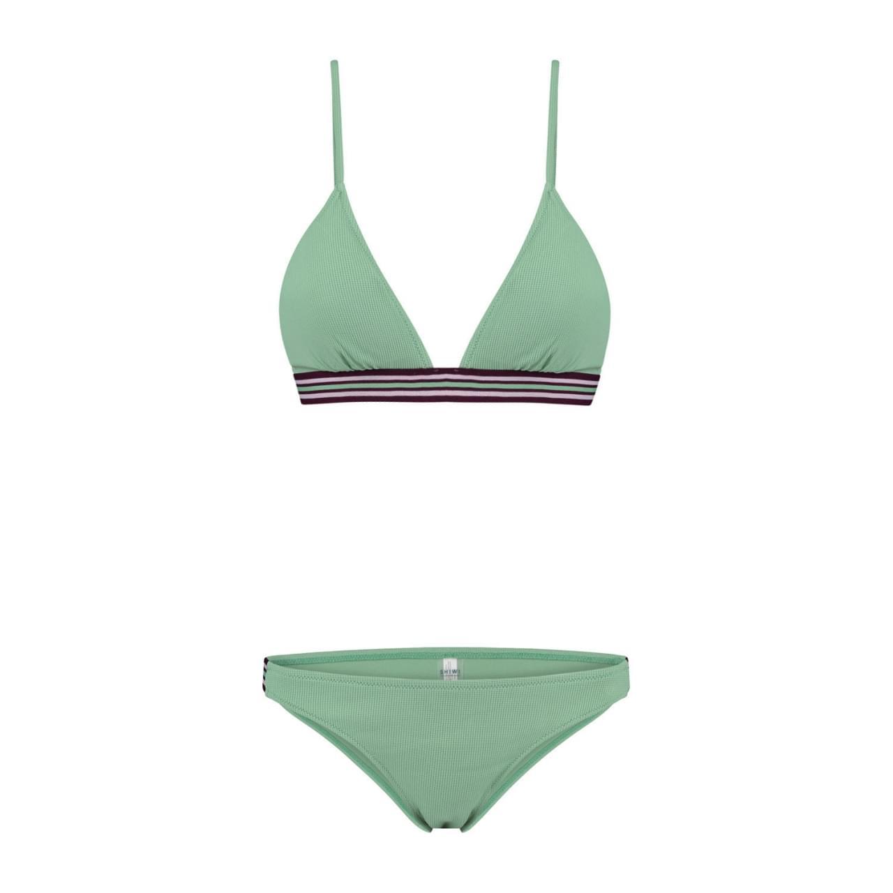 SHIWI Flexible Romy Triangle Bikini Dames Groen