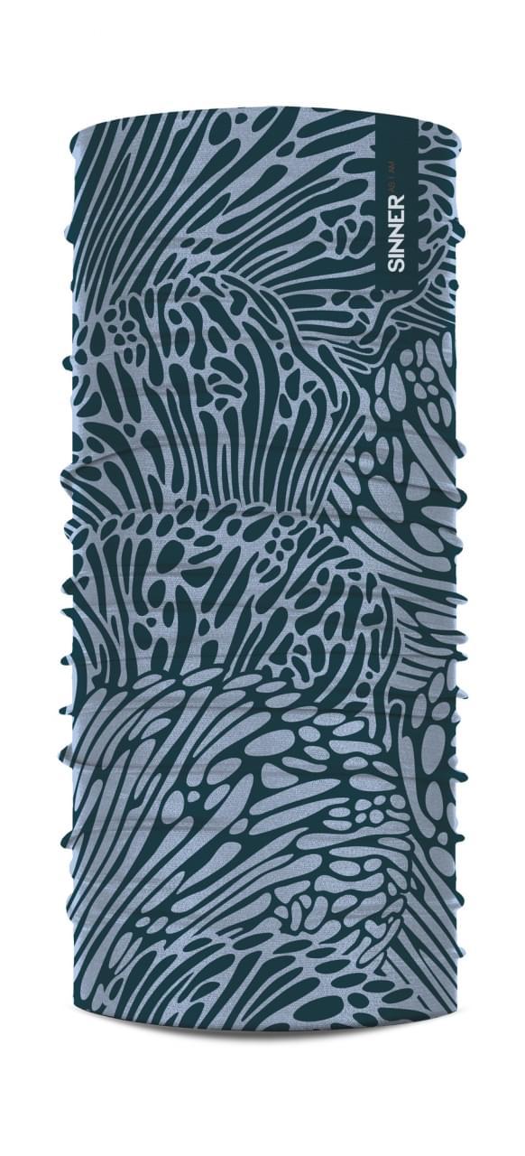 Sinner Bandana Coral Blauw