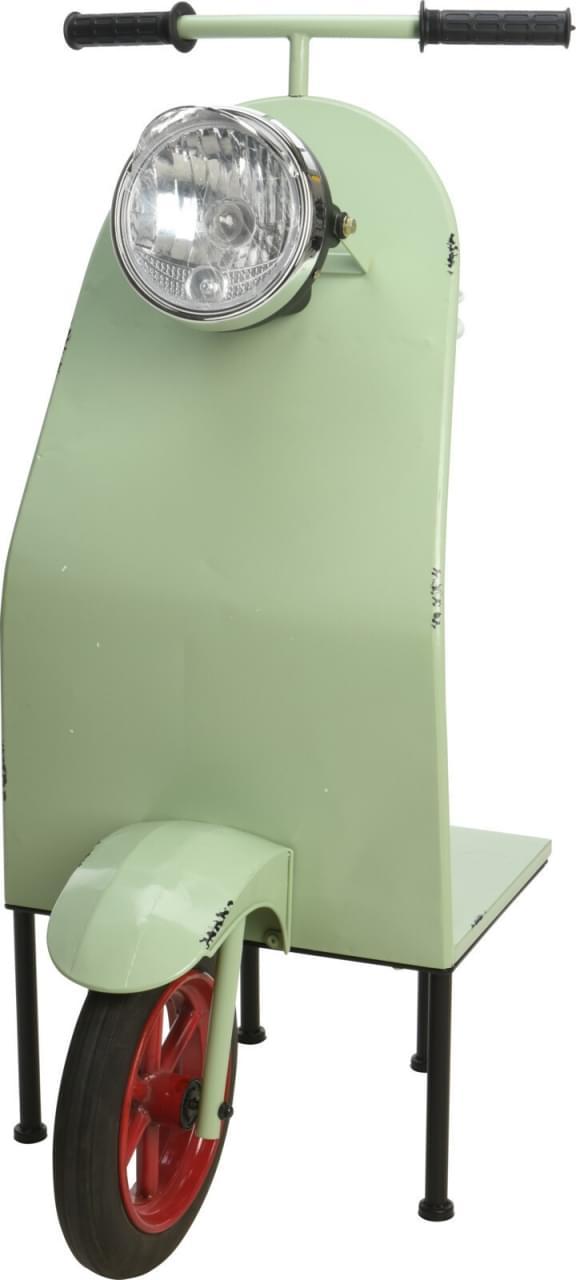 ML Deco Scooter met Tafel Groen