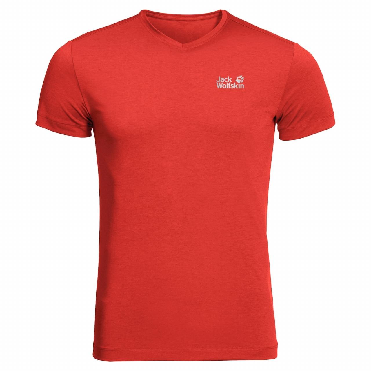 Jack Wolfskin JWP T-Shirt Heren Rood
