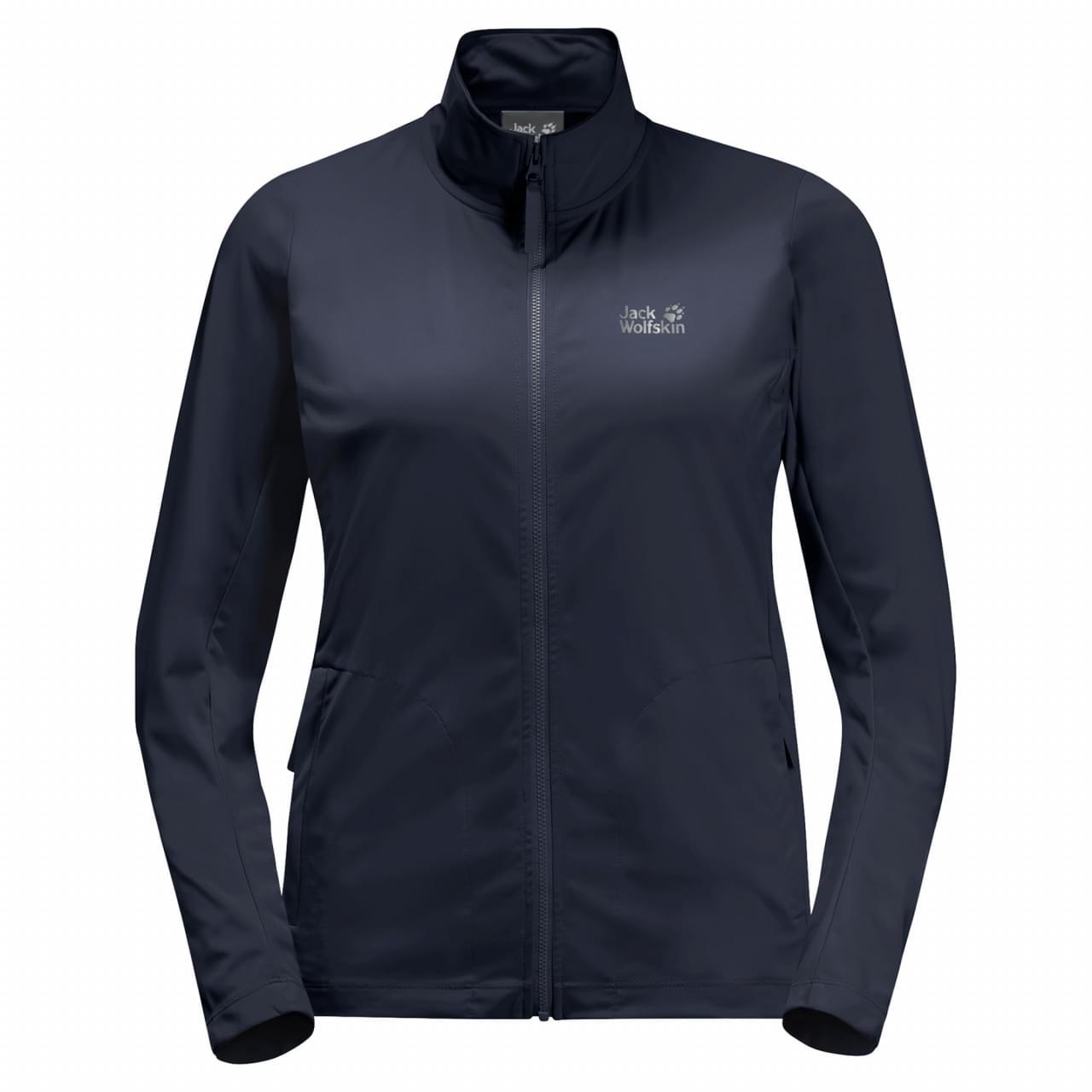 Jack Wolfskin JWP Dynamic Fleece Jacket Dames Blauw