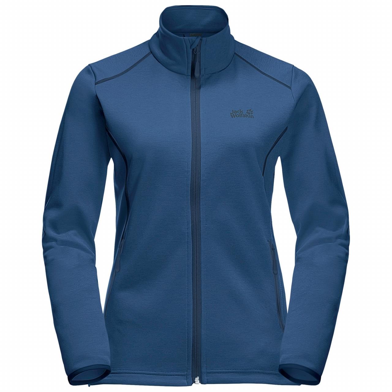 Jack Wolfskin Horizon Fleece Jacket Dames Blauw