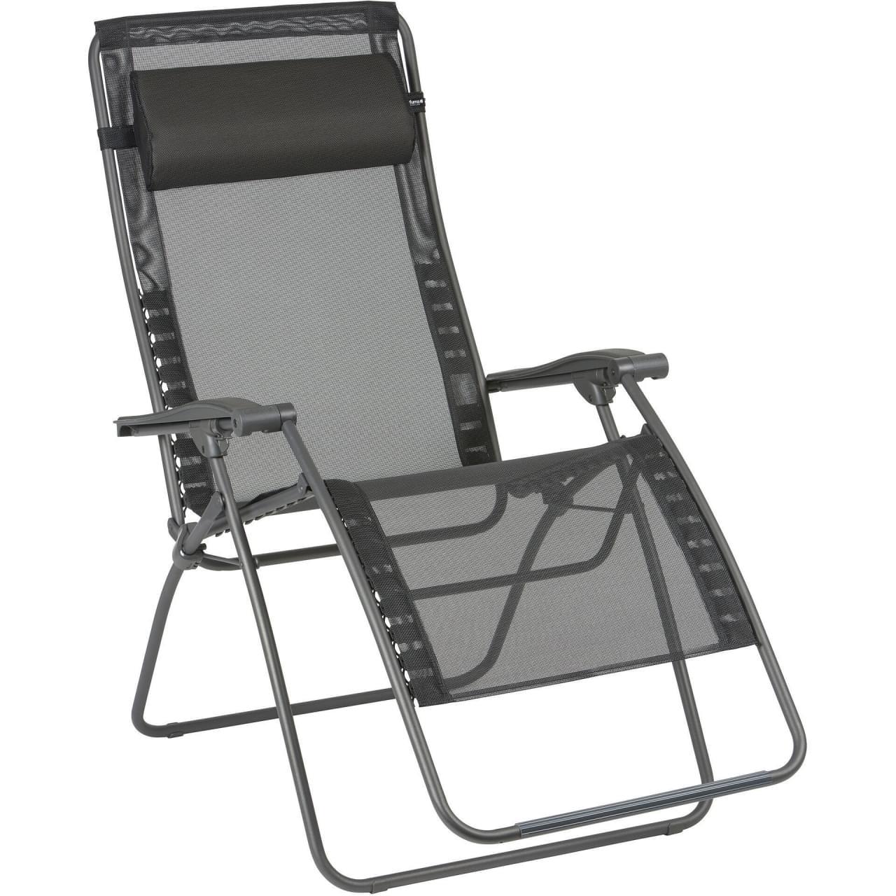 Lafuma RSXA Clip Batyline XL Relaxstoel Zwart