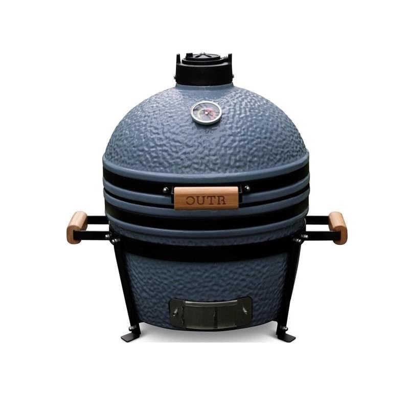 Outr Medium Kamado Barbecue Grijs