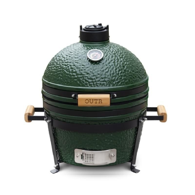Outr Medium Kamado Barbecue Groen