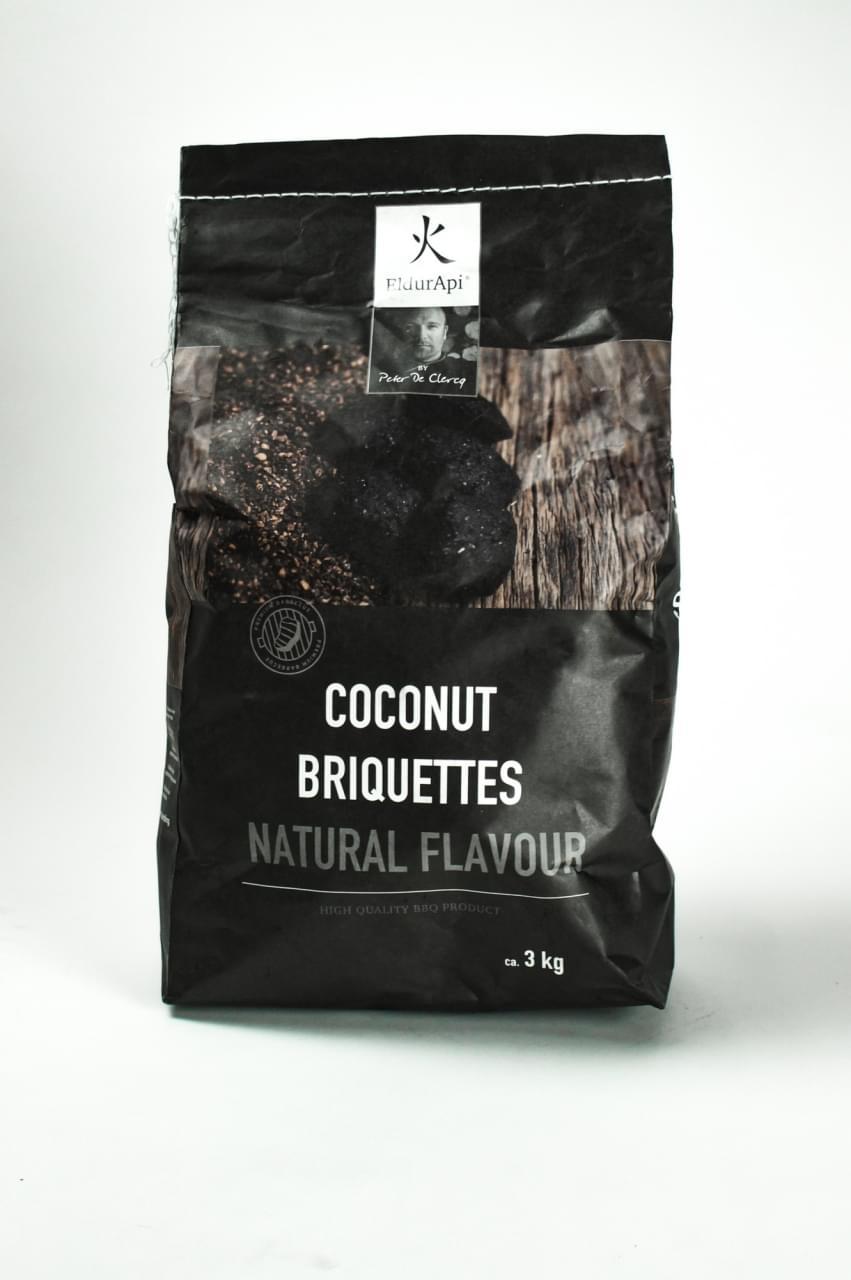 Eldurapi Cocos briketten naturel