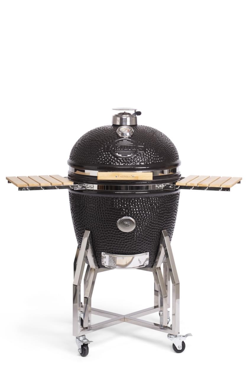 Yakiniku XLarge Kamado Barbecue met onderstel en side tables