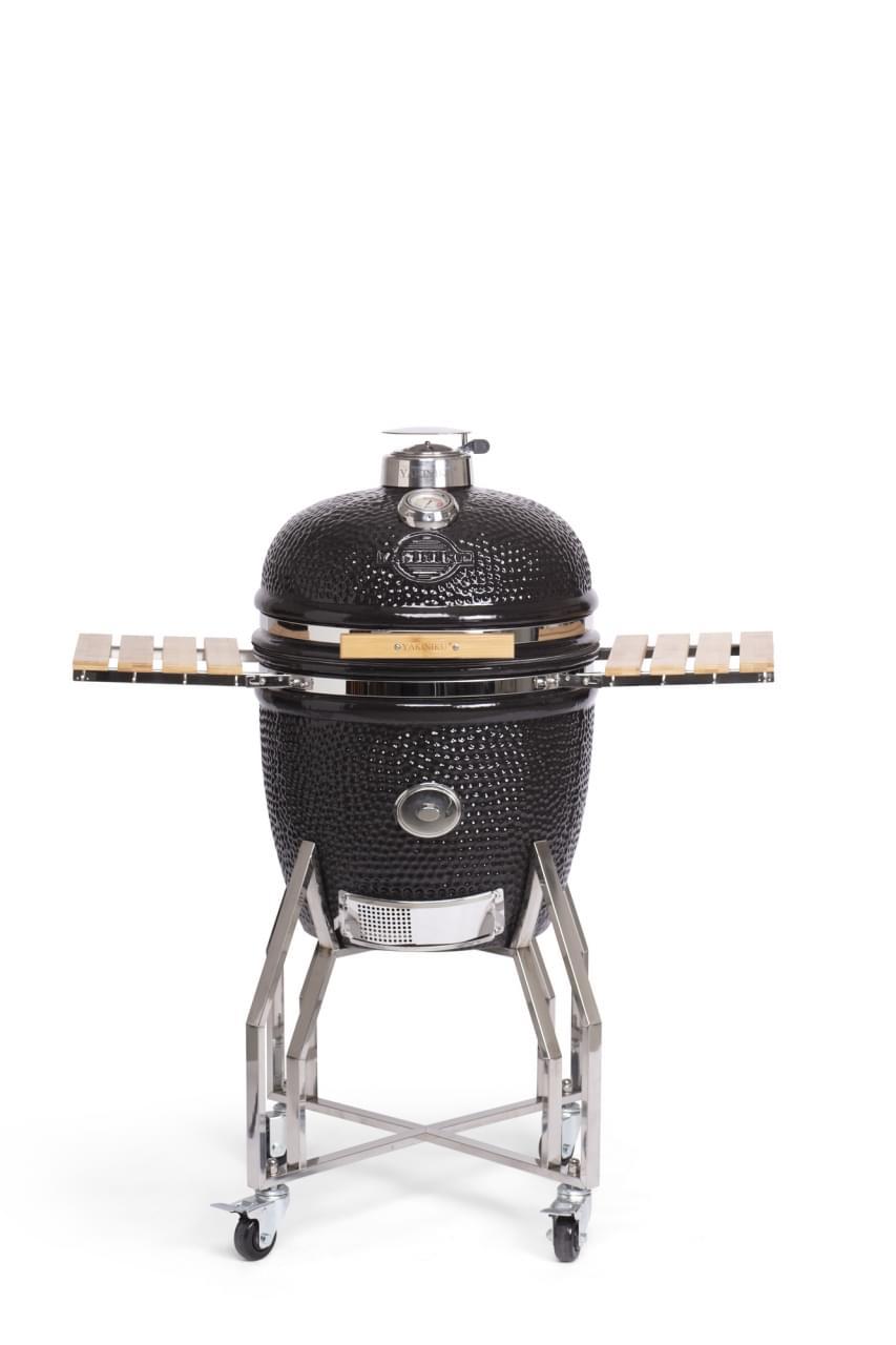 Yakiniku Large Kamado Barbecue met onderstel en side tables