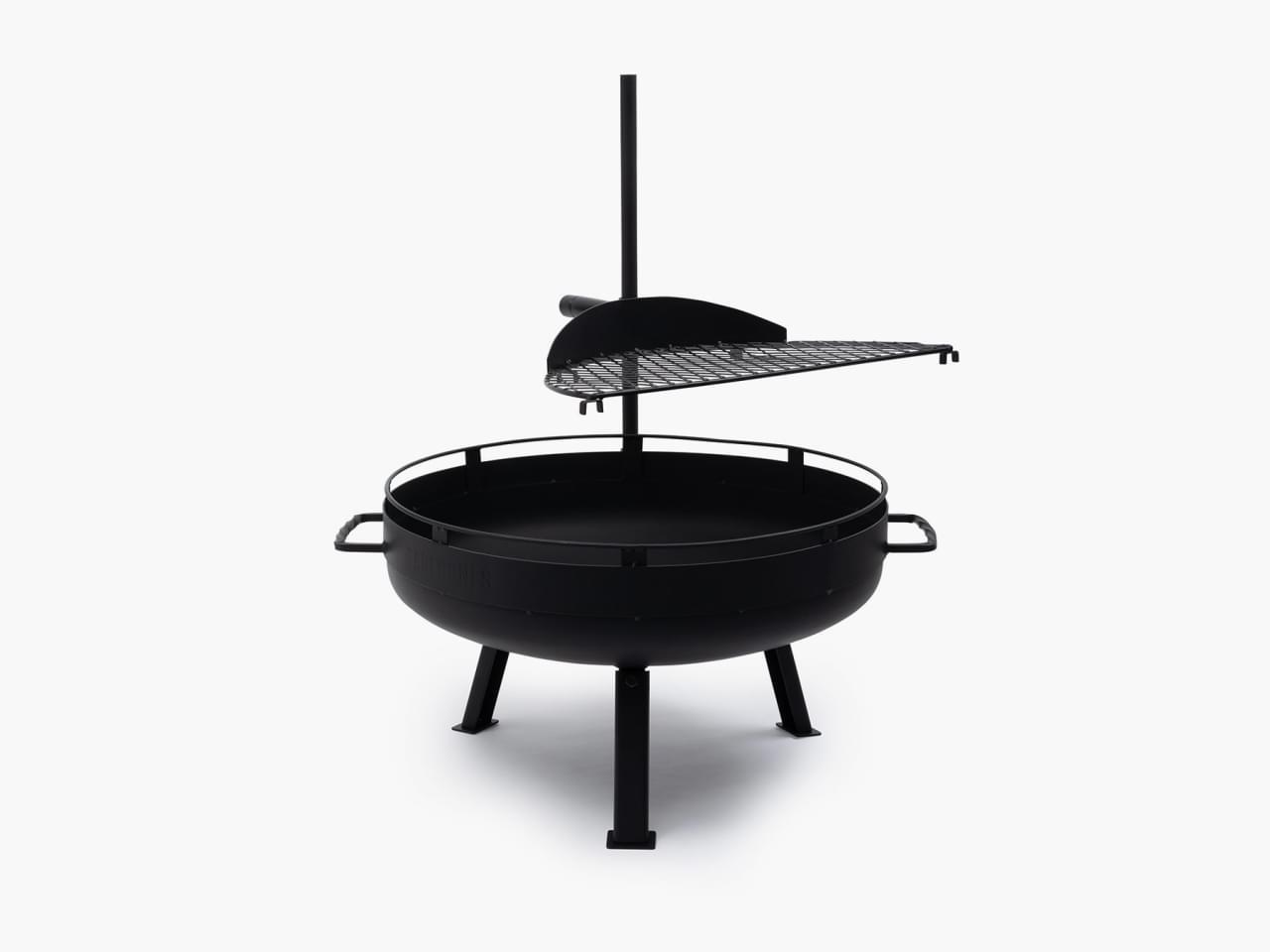 Barebones Cowboy Fire Pit Grill System Buitenkeuken Small