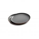 Barebones Enamel Ontbijtbord 2 St. Stone Gray
