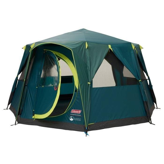 Coleman Octagon BlackOut - 8 Persoons Tent Groen
