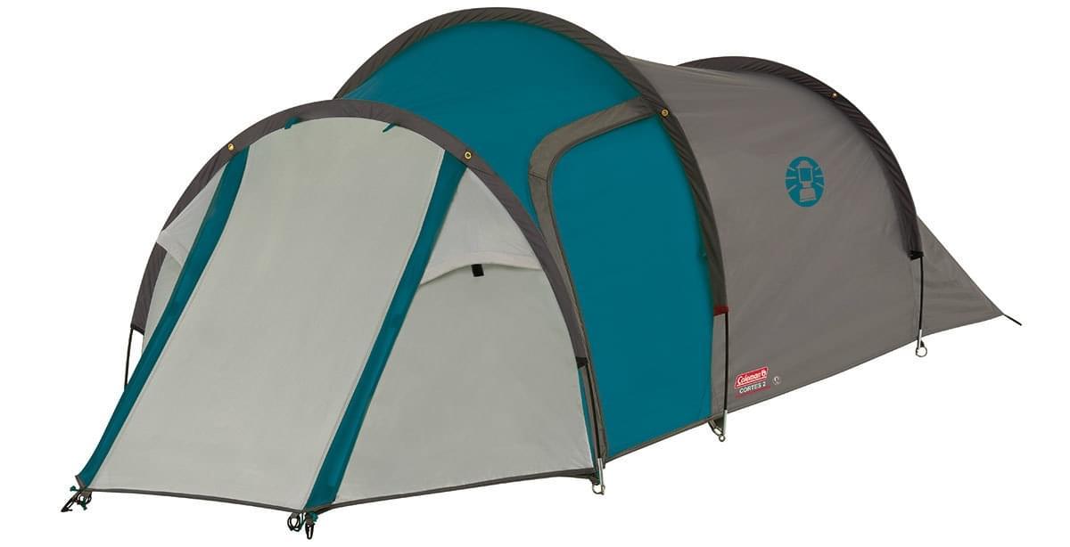Coleman Cortes 3 - 3 Persoons Tent Blauw