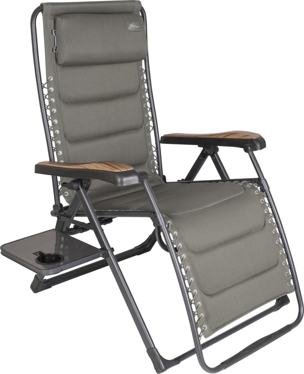 Bardani Riposo Alu 3D Comfort Campingstoel Grijs
