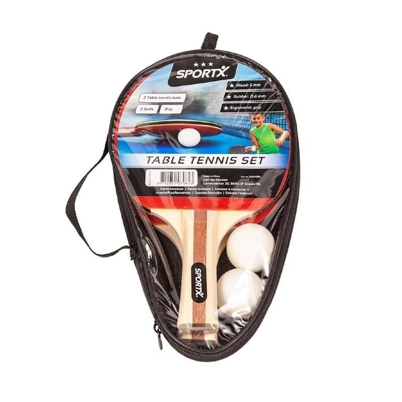Sportx Tafeltennis Set inclusief Ballen