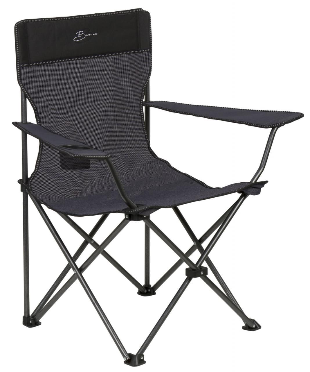 Bardani Captain's Chair Campingstoel Grijs