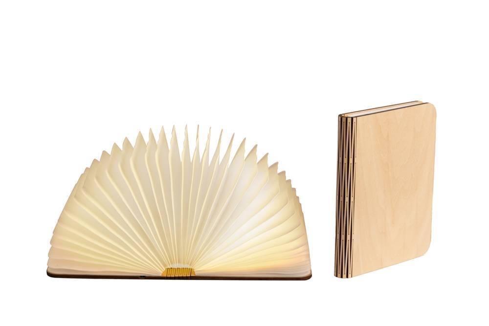 LEDR Boek Lamp Maple Medium