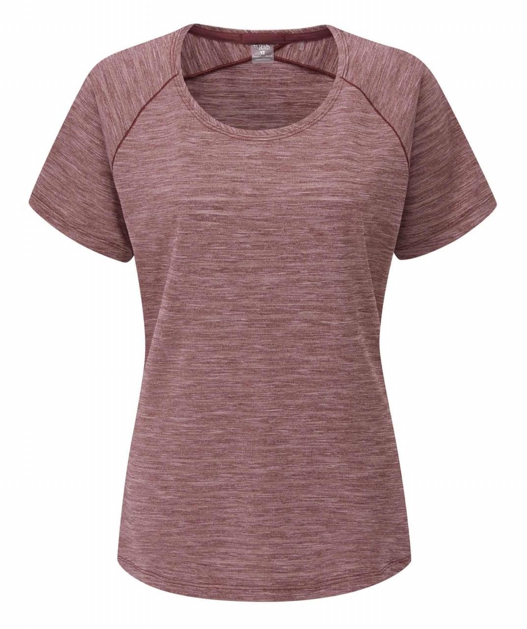 RAB Wisp T-Shirt Dames Rood