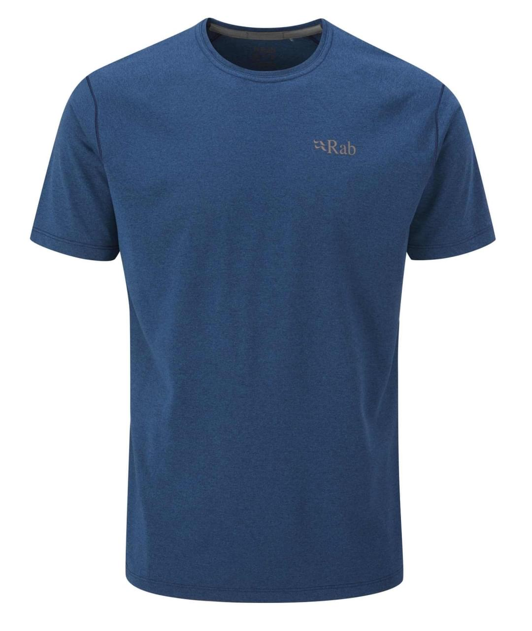 RAB Mantle Tee T-Shirt Heren Blauw