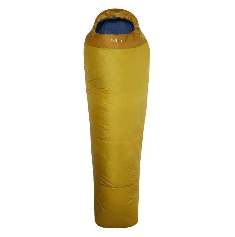 RAB Solar 1 Mummy Slaapzak Synthetisch Geel