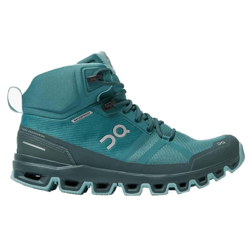 ON Cloudrock Waterproof Wandelschoen Dames Blauw