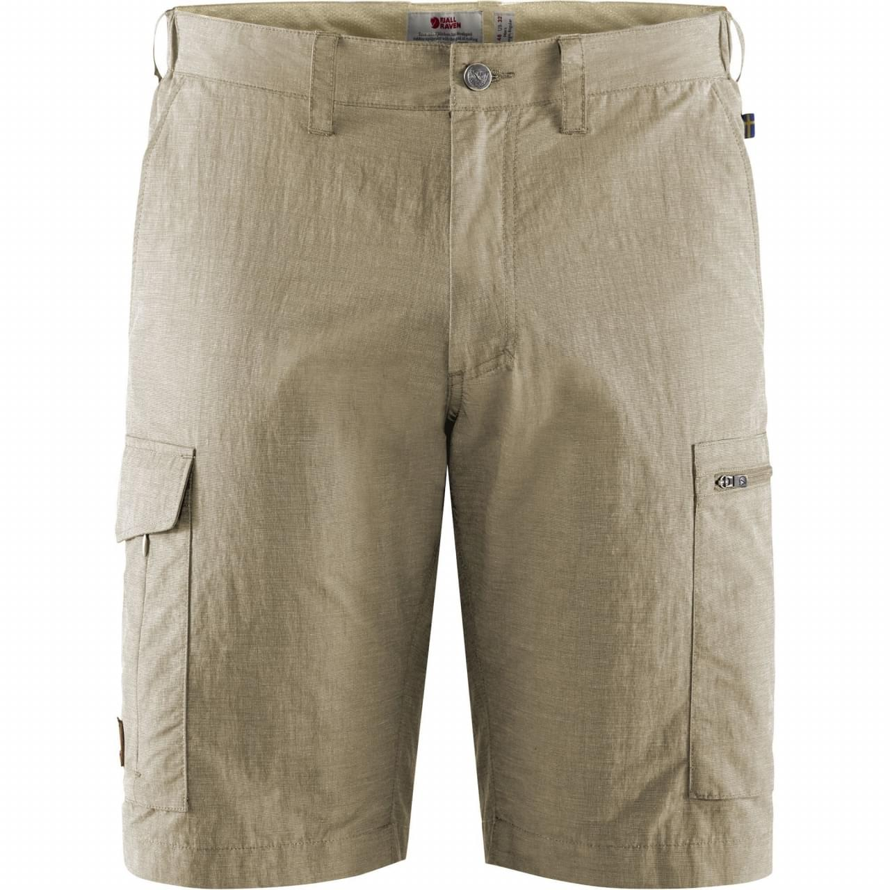 Fjallraven Travellers MT Korte Broek Heren Beige